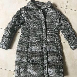 UNIQLO 3/4 light weight down jacket - medium